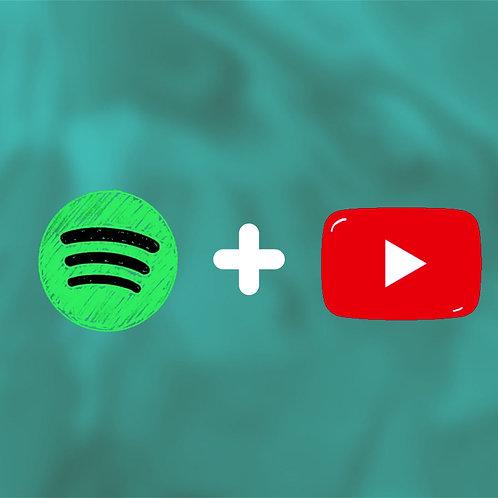 Spotify Playlist + Youtube Promotion Bundle 3