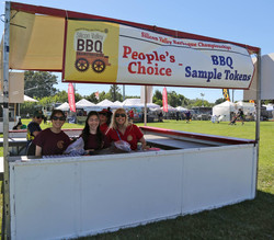 Silicon Valley BBQ Champs banner & people