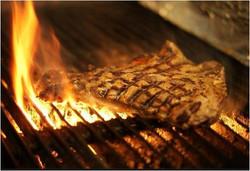 1 Steak on Grill1 Flames