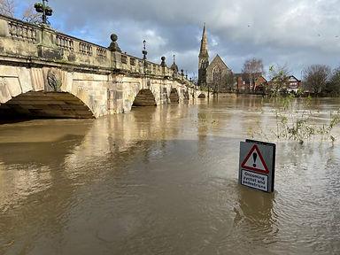 Flood-levels-river-Severn-Shrewsbury_Feb