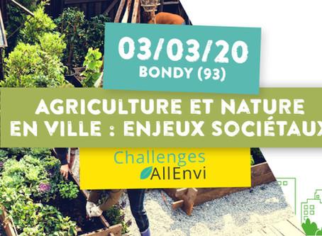 Journée d'échanges dédiée aux enjeux sociétaux des projets d'agriculture et de nature en ville