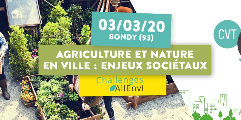 [Evènement] Agriculture et nature en ville : enjeux sociétaux