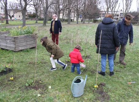 Ouverture d'un jardin pédagogique et expérimental à Bondy (quartier la Noue Caillet)