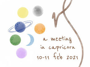 A meeting in Capricorn