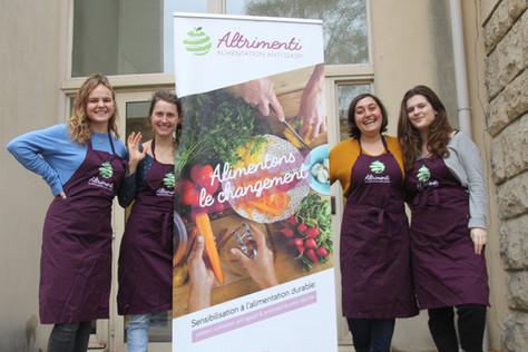 L'association Altrimenti dans le cadre de la rencontre sur l'alimentation durable dans l'Est parisien