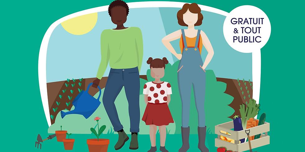 Atelier jardinage : entretien et récolte de fruits et légumes de saison