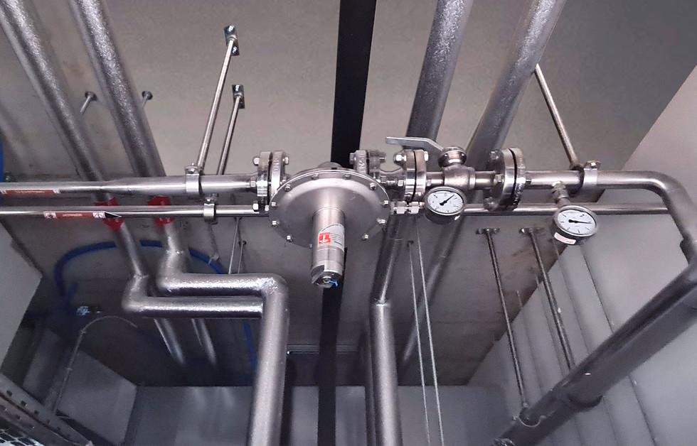 Formalin-Etagen-Abstellventil mit Druckr