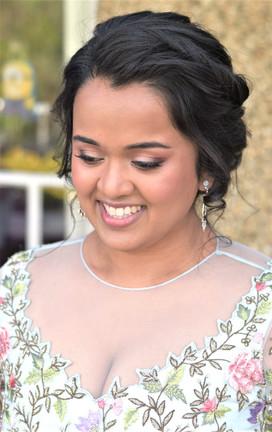 Indian natural wedding makeup