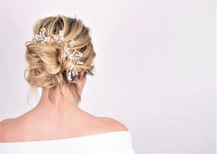 romantic boho wedding hair