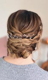 wedding hairup