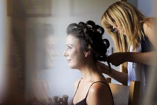 natural wedding hair and makeup looks
