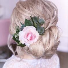 'Aurora' hair comb - updo