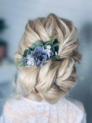 wedding updo hertfordshire