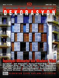 Cansu ARCAN'ın 'Avrupa Kentsel Kamusal Mekan Ödülleri Üzerinden Bir İrdeleme' başlıklı makalesi Mimarlık Dekorasyon Dergisi'nin 242. sayısında yayında.