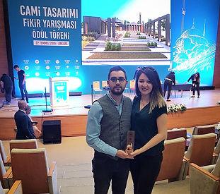 CM² Mimarlık ve Tasarım Stüdyosu, Cami Tasarımı Fikir Yarışması ödül töreni ve kolokyumu için T.C. Çevre ve Şehircilik Bakanlığı'ndaydı.