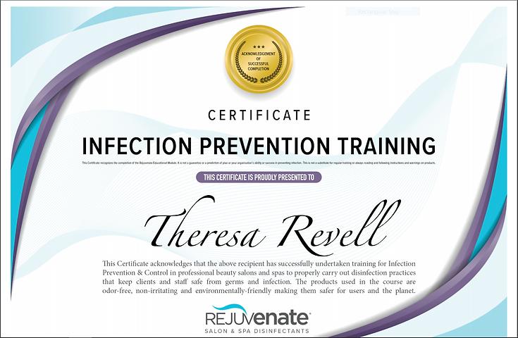 Tally Bodyworks Infection Prevention Cer