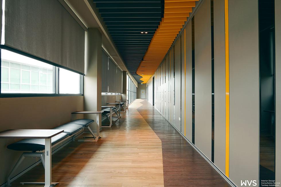 Corridor & Pre Function Area