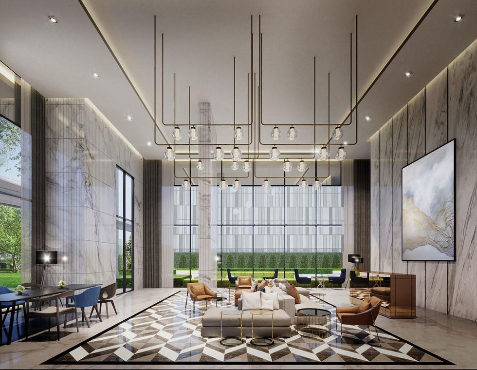 Building B Lobby