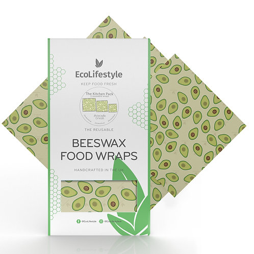Beeswax Kitchen Pack -Avocado