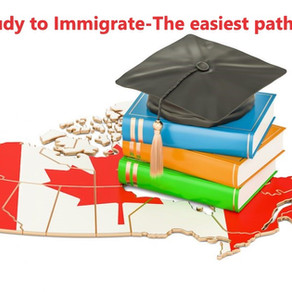 Immigration through Education-the easiest pathway to permanent residency.