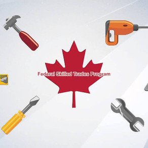 Immigrate to Canada under the Federal Skilled Trades program.
