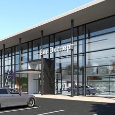 Mercedes-Benz dealer center