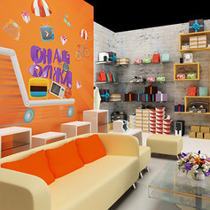 Onay Olzha TV studio