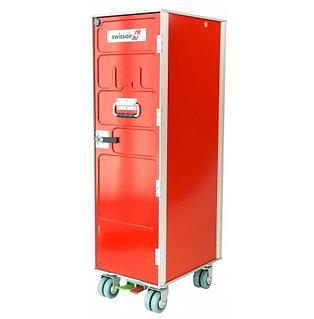 Swissair trolley red