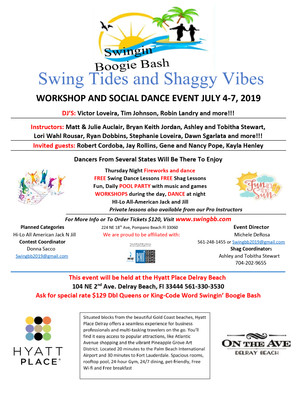 Event: Swingin' Boogie Bash