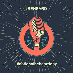 March 7th is #NationalBeHeardDay