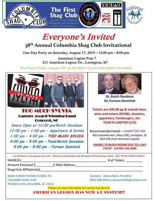 Columbia Shag Club Invitational