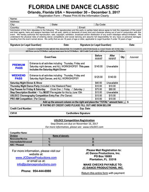 Event: Florida Line Dance Classic