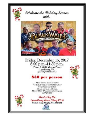 Lynchburg Area Shag Club's Annual Christmas Dance