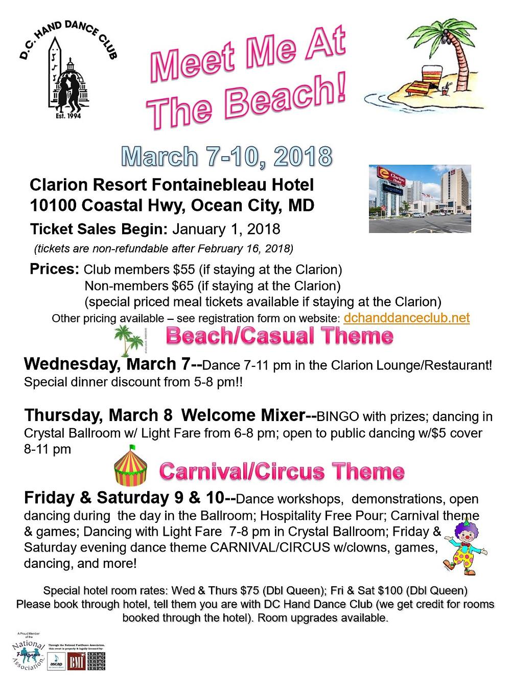 Meet Me At The Beach Event