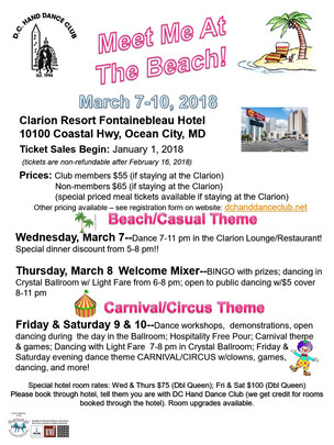 Event: Meet Me At The Beach, March 7-11