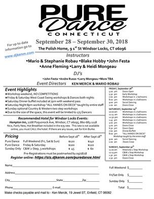 Event: Pure Dance Connecticut