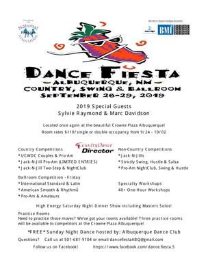 Event: Dance Fiesta
