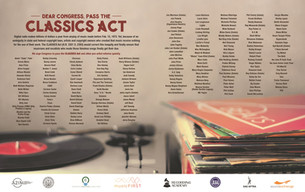 Press Release for Support of the Classics Act