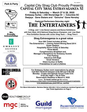 Event: Capital City Shag Extravaganza XI