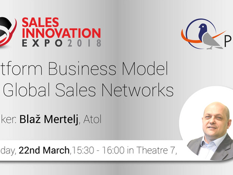 Platform Business Model for Global Sales Networks going live on Sales Innovation Expo 2018
