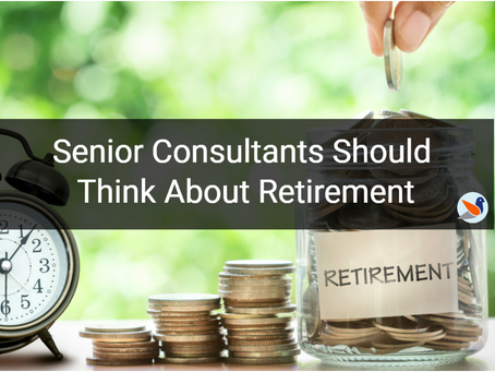 Senior consultants should think about retirement
