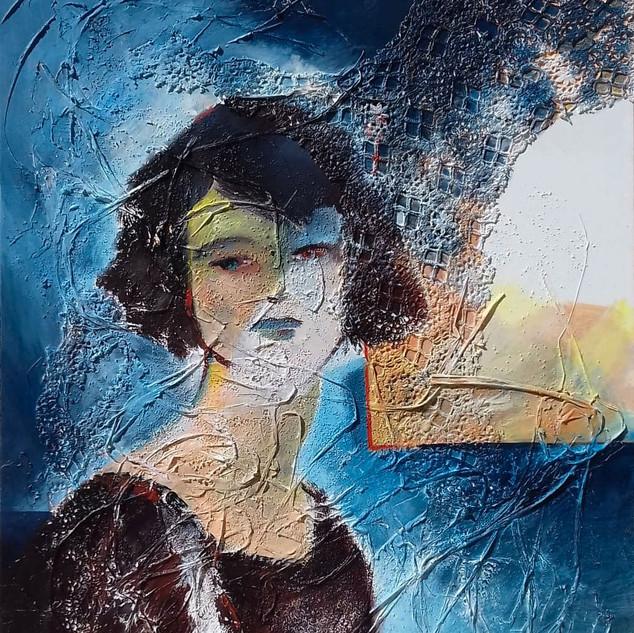 Femme au bleu