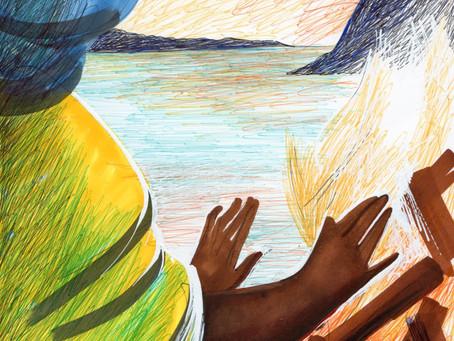 La peinture trouve les mots avec les jeunes migrants du Foyer Transition de Toulouse
