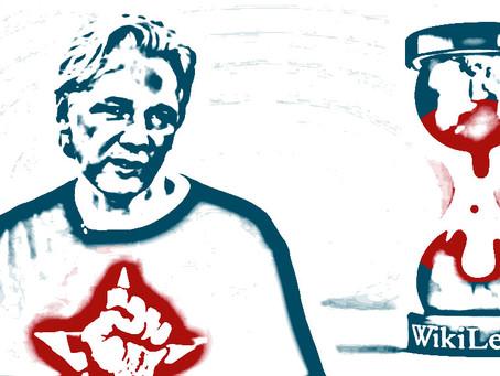 Julian Assange avec ses mots