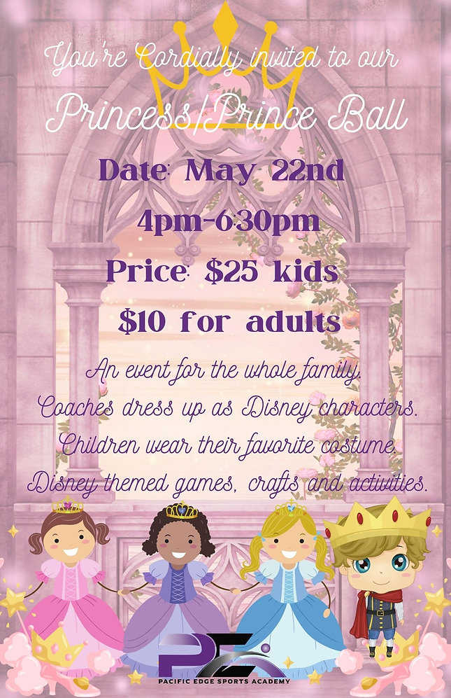 You're Cordially invited to our Princess