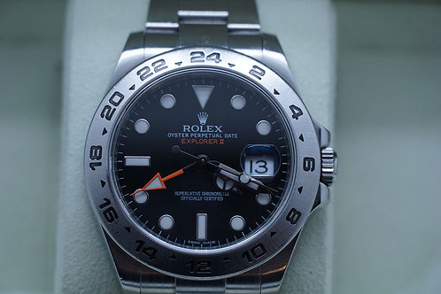 Rolex Explorer II 42mm Black Dial 216570
