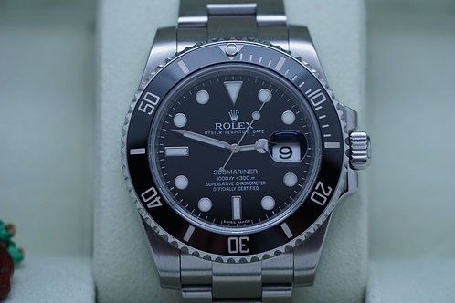 Rolex Submariner Date Ceramic 116610 Complete 40mm