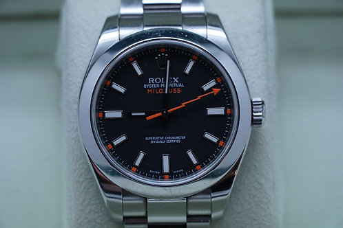 Rolex Milgauss 116400 V serial black