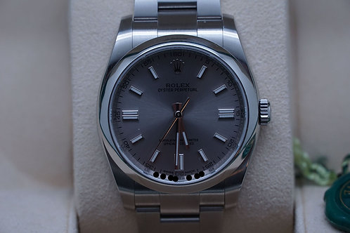Rolex Oyster Perpetual 36mm Rhodium 116000