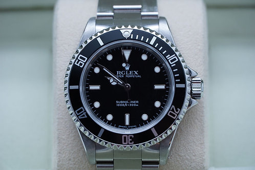 Rolex Submariner No Date 14060M D Serial 2 Liner